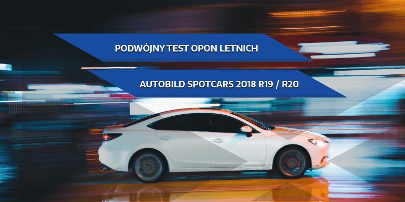Podwójny test opon letnich AutoBild SportsCars 2018