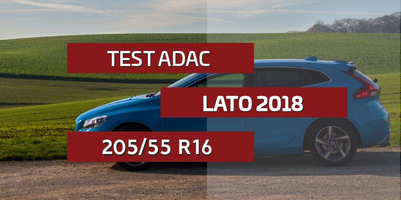Test Opon Letnich Adac W Rozmiarze 20555 R16 2018